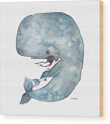 Mermaids Wood Prints