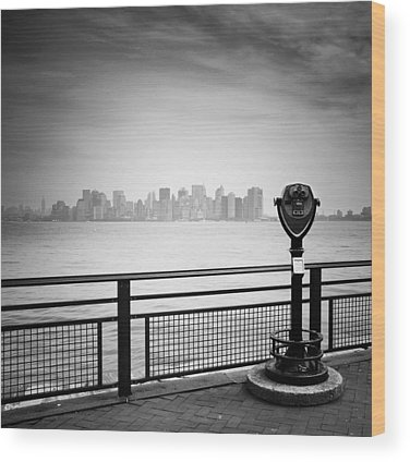 Manhattan Island Wood Prints