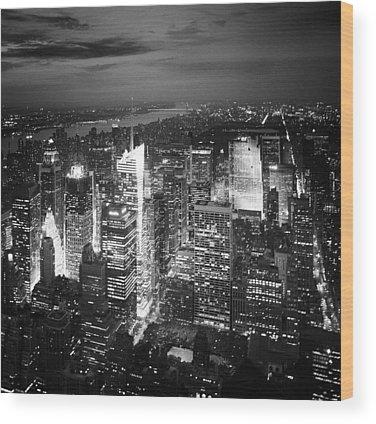 City View Wood Prints