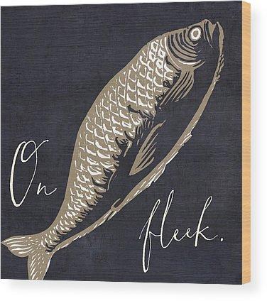 Sport Fishing Wood Prints