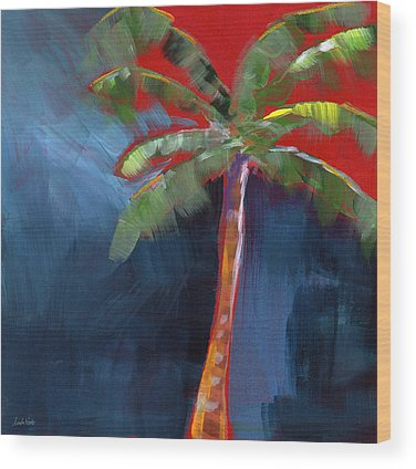 Palm Tree Wood Prints