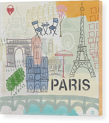 Paris Wood Prints