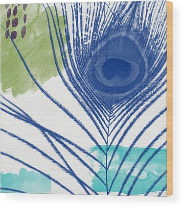 Peacock Wood Prints