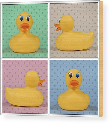 Rubber Ducky Wood Prints