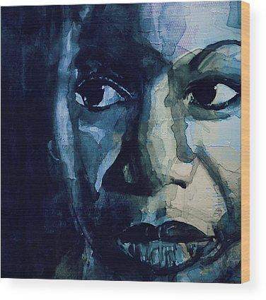 Nina Simone Wood Prints