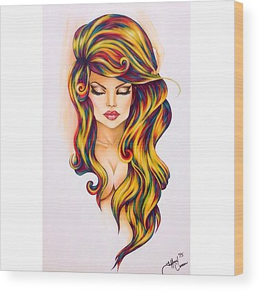 Abstract Realism Wood Prints