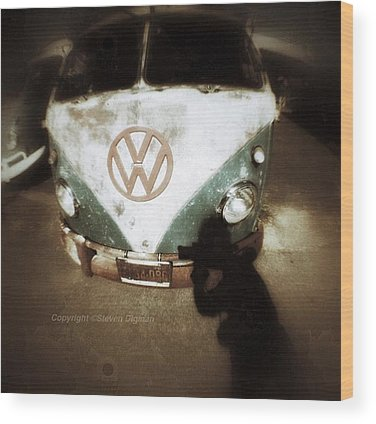 Volkswagen Bus Wood Prints