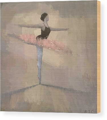 Ballerina Wood Prints