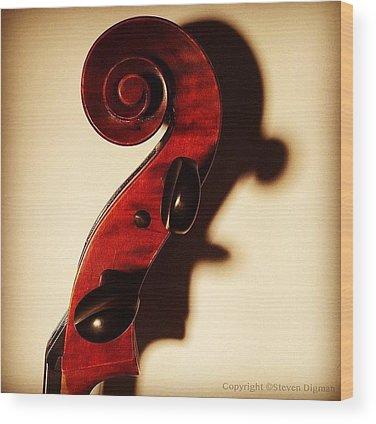 Musical Wood Prints