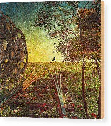 Metaphysical Wood Prints