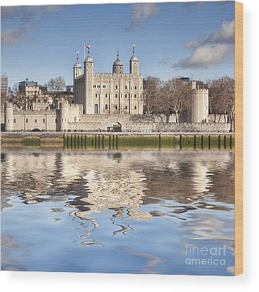 Tower Of London Wood Prints