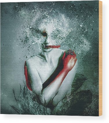 Bleeding Wood Prints