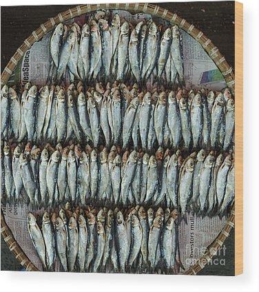 Seafood Wood Prints