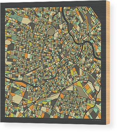 Vienna Wood Prints