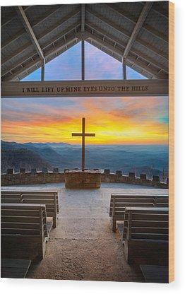 Morning Glory Wood Prints