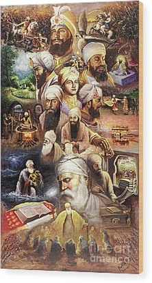 Sikh Art Wood Prints