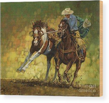 Rodeo Wood Prints