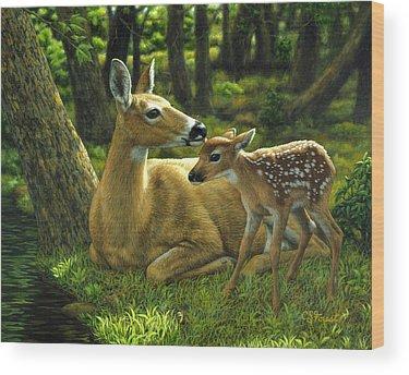 Doe Wood Prints