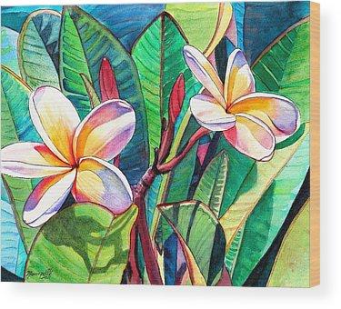 Islands Wood Prints