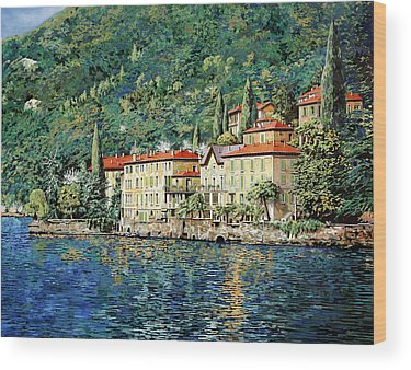 Lake Como Wood Prints