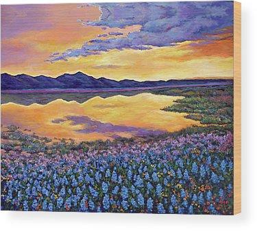 Wildflowers Wood Prints