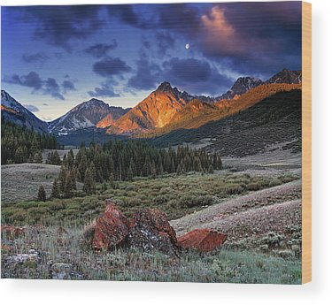 Idaho Wood Prints