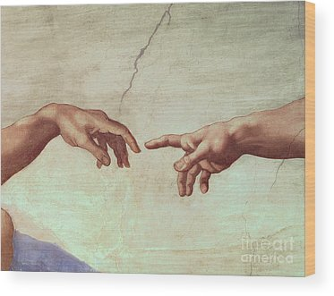 Sistine Chapel Wood Prints