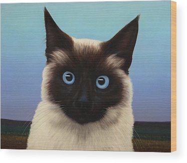 Cat Wood Prints