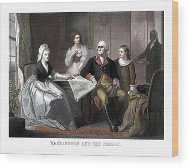 Martha Washington Wood Prints