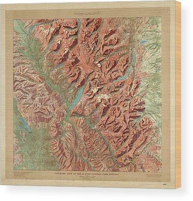 Relief Wood Prints