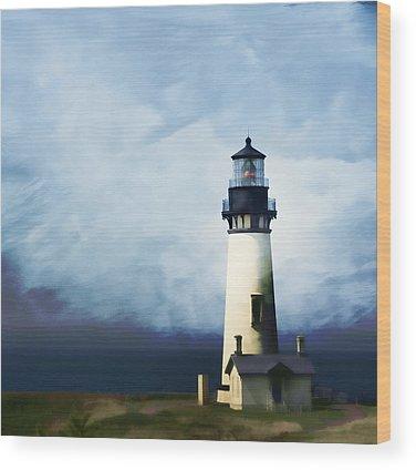 Lighthouse Wood Prints