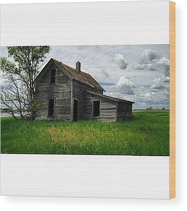 Country House Wood Prints