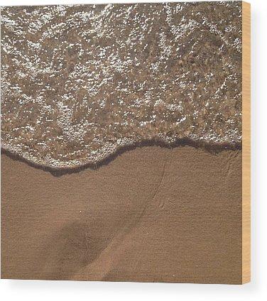 Waves Wood Prints