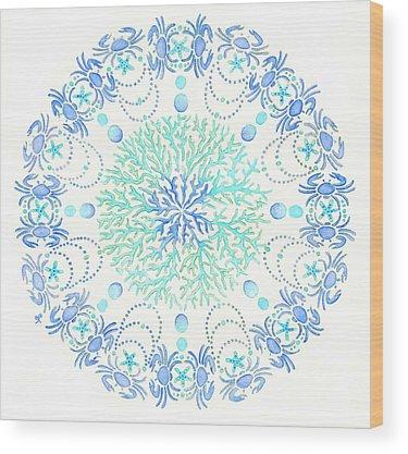 Bubble Up Wood Prints