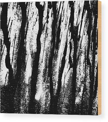 Car Abstract Wood Prints