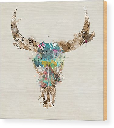 Horn Wood Prints