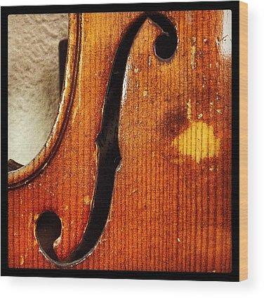 Music Instrument Wood Prints