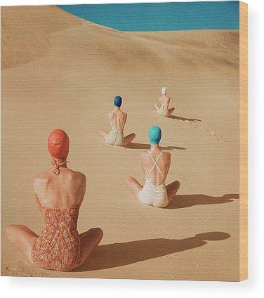 Dunes Wood Prints