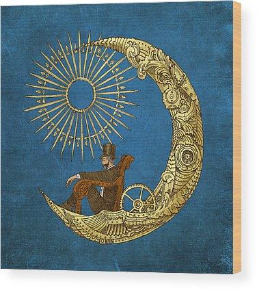 Celestial Wood Prints