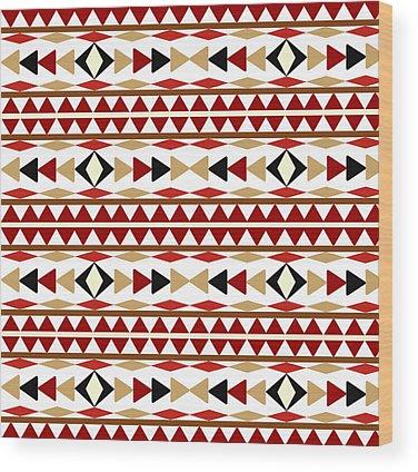 Navajo Wood Prints