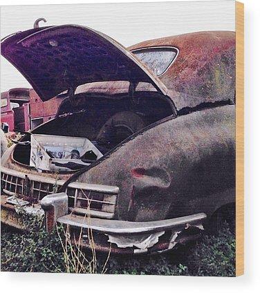Vintage Cars Wood Prints