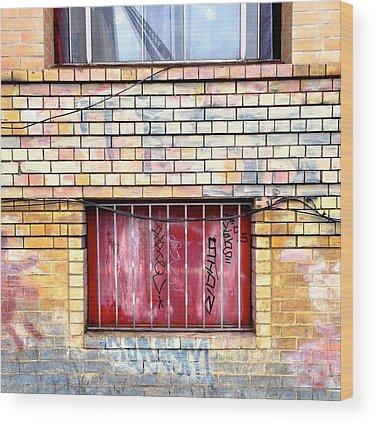 Brick Wood Prints