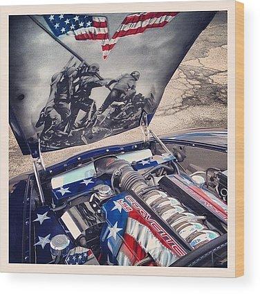 Patriotic Wood Prints