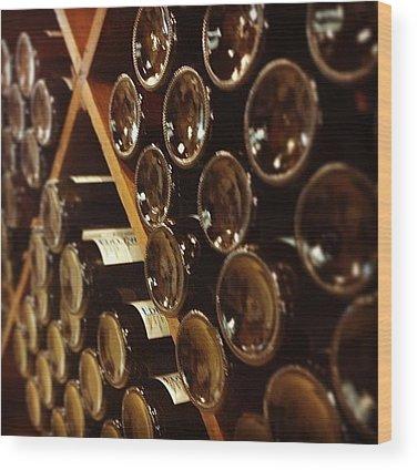 Wine Wood Prints