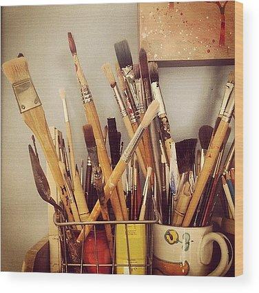 Brush Wood Prints
