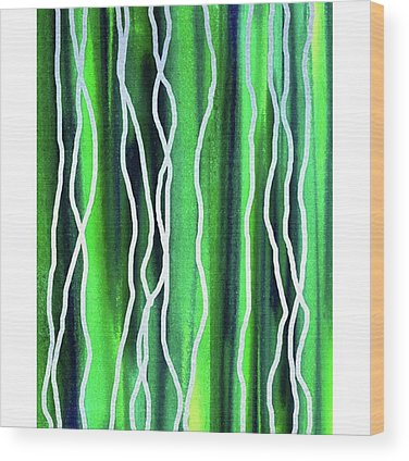 Lines Wood Prints
