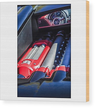 Bugatti Wood Prints