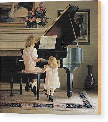 Piano Wood Prints