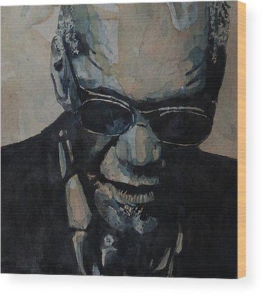 Ray Charles Soul Wood Prints