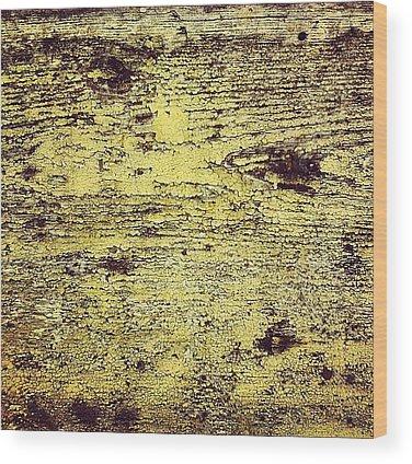 Paint Wood Prints
